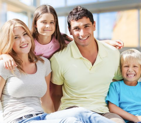 Dental Health Family Picture